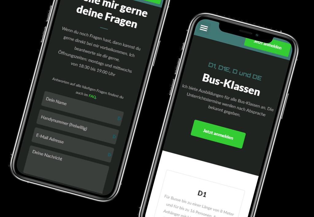 Phone Mockup fahrschule-chris.de