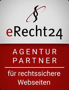 E-Recht24 Agenturpartnersiegel