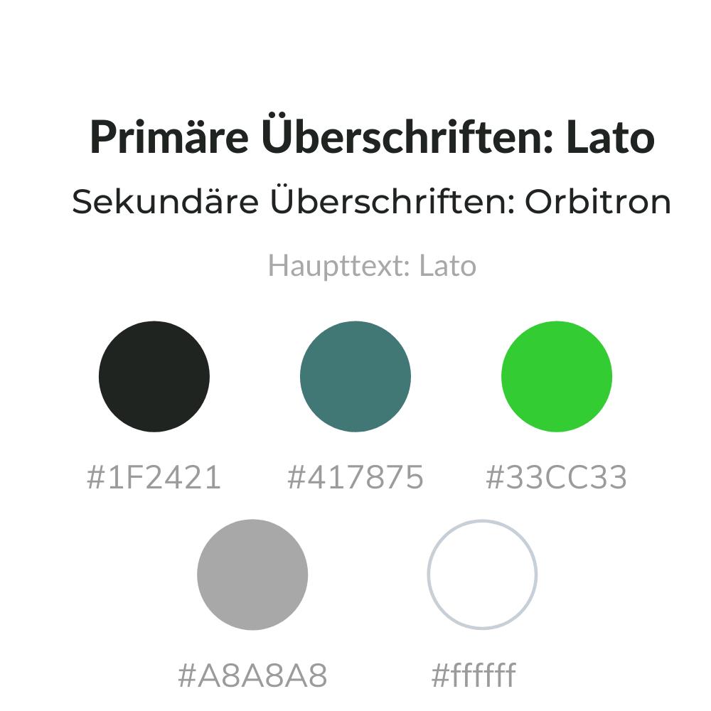 Farben & Schriftarten von fahrschule-chris.de